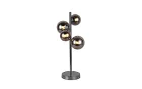 LED-Tischleuchte Villa in schwarz, 48 cm