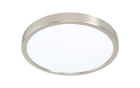 LED-Deckenleuchte Fueva 5 in nickel-matt, 28,5 cm