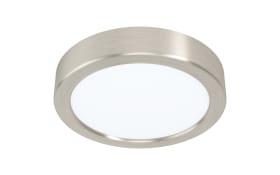 LED-Deckenleuchte Fueva 5 in nickel-matt, 16 cm