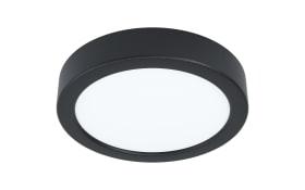 LED-Deckenleuchte Fueva 5 in schwarz