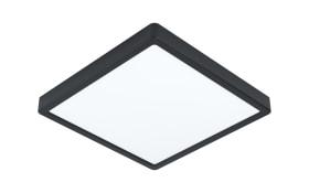 LED-Deckenleuchte Fueva 5 in schwarz, ca. 28,5 x 28,5 cm