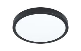 LED-Deckenleuchte Fueva 5 in schwarz, 28,5 cm