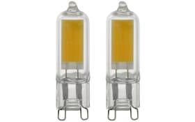 LED-Leuchtmittel 11676 2W / G9 / 3000 K, 2er-Set
