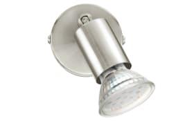 LED-Wandleuchte Buzz-LED in nickel matt