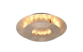 LED-Decken/-Wandleuchte Nevis im Blattgold-Design, 32 cm