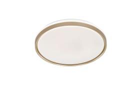 LED-Deckenleuchte Jaso in gold/weiß, 50 cm