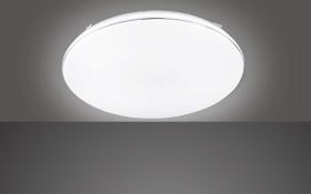 LED-Deckenleuchte Aldo in weiß, 53 cm