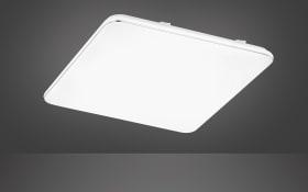 LED-Deckenleuchte Aldo in weiß, 53 x 53 cm