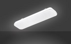 LED-Deckenleuchte Aldo in weiß, 60 x 18 cm