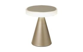 LED-Tischleuchte Neutra in goldfarbig matt