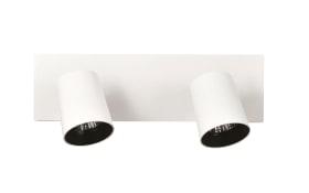 Deckenleuchte Modo in weiß, 2-flammig