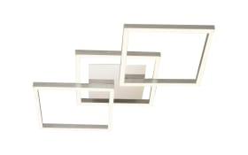 LED-Deckenleuchte Jalu in alufarbig, 3-flammig
