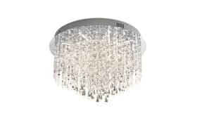 LED-Deckenleuchte Palace in chromfarbig, 40 cm