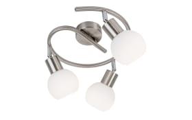 LED-Deckenspirale Loxy in nickel matt, 25 cm