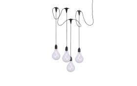 LED-Pendelleuchte Enni, 4-flammig