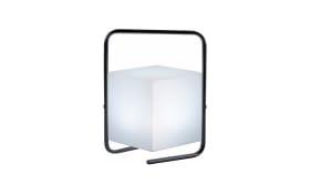 Akku-Tischleuchte Keno RGB in schwarz/weiß, 29 cm