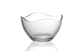 Schale Wave in klar, 13 cm