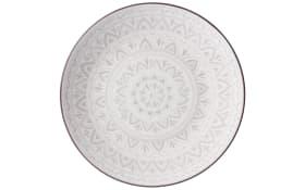 Teller Valencia in weiß, 21,5 cm