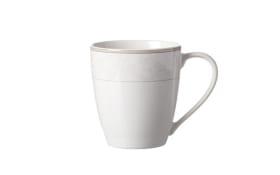 Kaffeebecher Isabella in creme, 350 ml