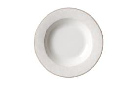 Suppenteller Isabella in weiß, 21,5 cm