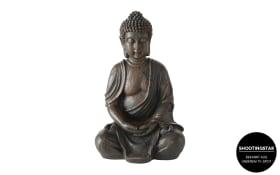 Buddha aus Kunstharz, 30 cm