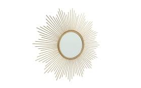 Spiegel Brooklyn in gold, 50 cm