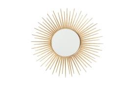 Wandobjekt Camo in gold, 70 cm