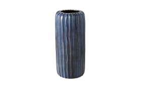 Vase Aquarel in blau, 24 cm