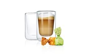 2er-Set Cappuccino Gläser Nero, 250 ml