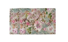 Mitteldecke Floris in fuchsia, 100 x 100 cm