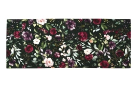 Mitteldecke Deep Flowers in apple/fir, 85 x 85 cm