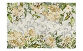 Tischband Love Flowers in creme, 20 x 96 cm