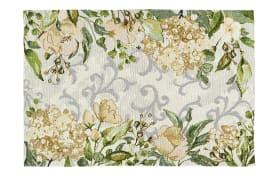 Tischläufer Love Flowers in creme, 49 x 143 cm