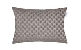 Zierkissenhülle Bliss in grau, 38 x 58 cm
