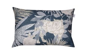 Zierkissenhülle Tropic in grau, 38 x 58 cm