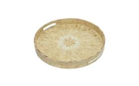 Tablett aus Bambus, 40 cm