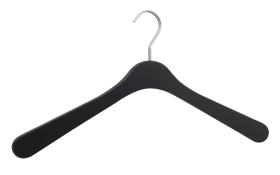 Garderobenbügel Jasper in Softtouch schwarz