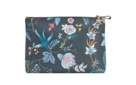 Cosmetic Bag Combi Flower Festival in dark blue