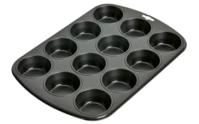 12er Muffinform Creativ in schwarz