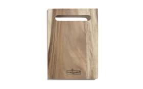 Holz-Schneidebrett in braun, 31.5 x 3 x 22.5 cm