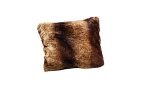 Kissen Venit in braun, 50 x 50 cm