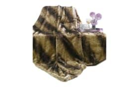 Decke Venti in braun, 150 x 200 cm