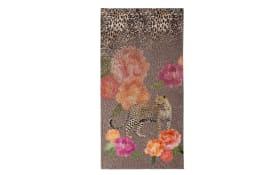 Strandtuch mit Leopard Aufdruck, 90 x 180 cm