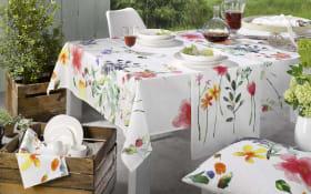 Tischdecke Casa Nova mit Blumenmuster, 150 x 150 cm