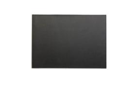 Platzmatte in schwarz, 33 x 46 cm