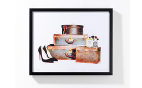 Bild mit Gepäck I, ca. 42,80 cm