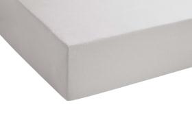 Spannbetttuch in schlamm, 140 x 200 x 8 cm