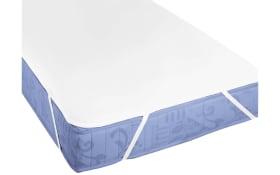 Matratzenauflage in weiß, 90 x 200 cm