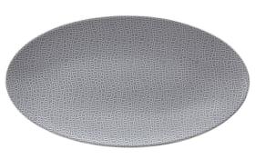 Servierplatte Life Elegant grey, 33 x 18 cm