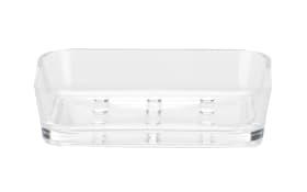 Seifenschale Kristall in transparent, 9 x 12 cm